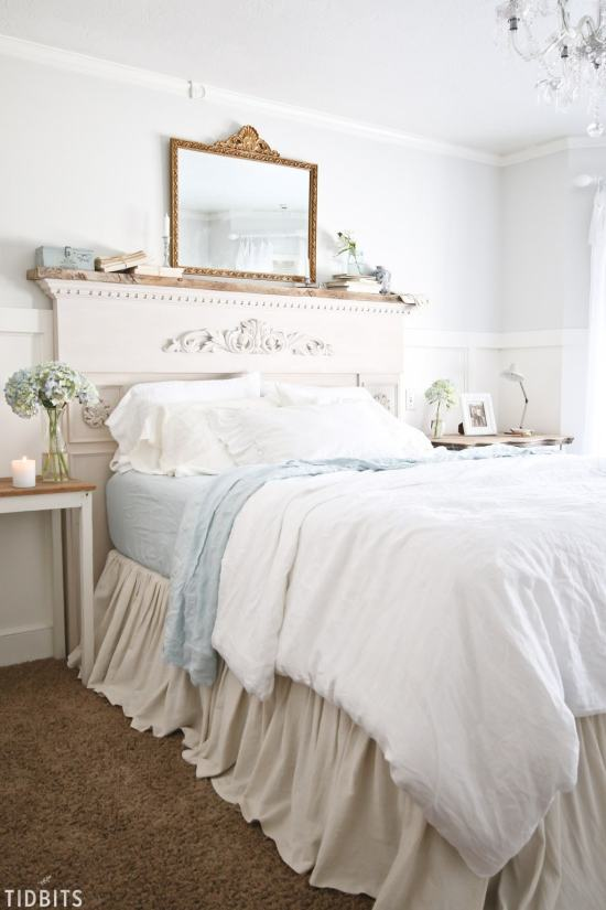 Farmhouse Spring Bedroom
