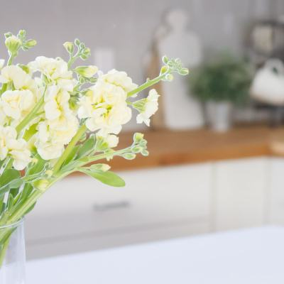 Cozy Living: Inviting the Warmth of Spring into your Home with Fresh Flowers