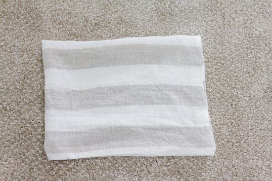 striped linen fabric