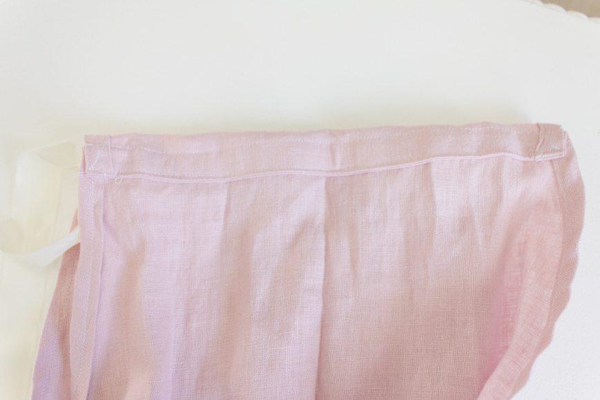 DIY Linen Tote