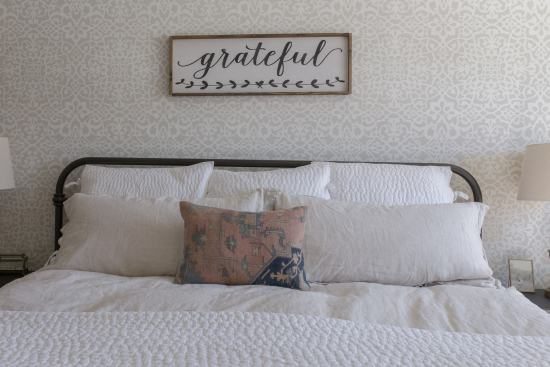 Spring Bedroom, bed