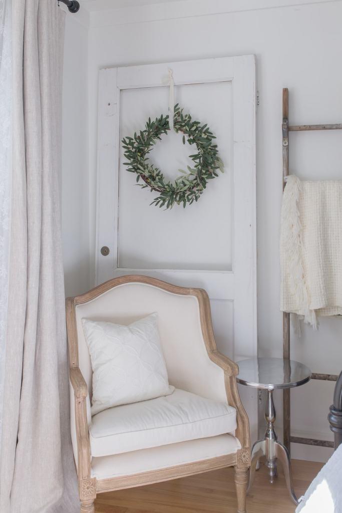 spring decor, chair