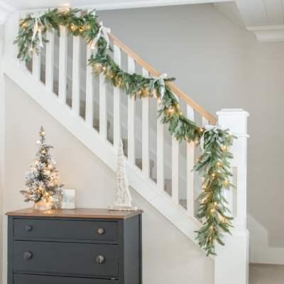 Simple + Cozy Farmhouse Christmas Home Tour