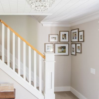 How to Create a Corner Gallery Wall