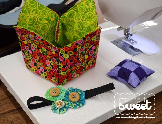 San Diego Quilt Show Craft Night