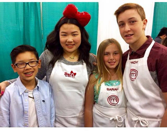 Masterchef Junior stars