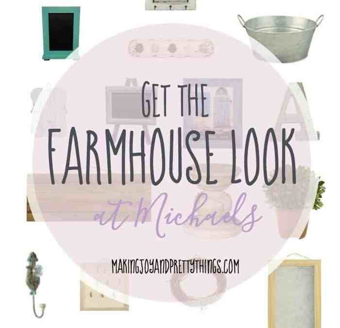 Get the Farmhouse Look, At Michaels!
