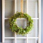 Simple Farmhouse Wreath