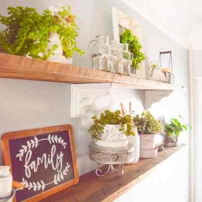 How to Style Open Shelves In 5 Easy Steps!