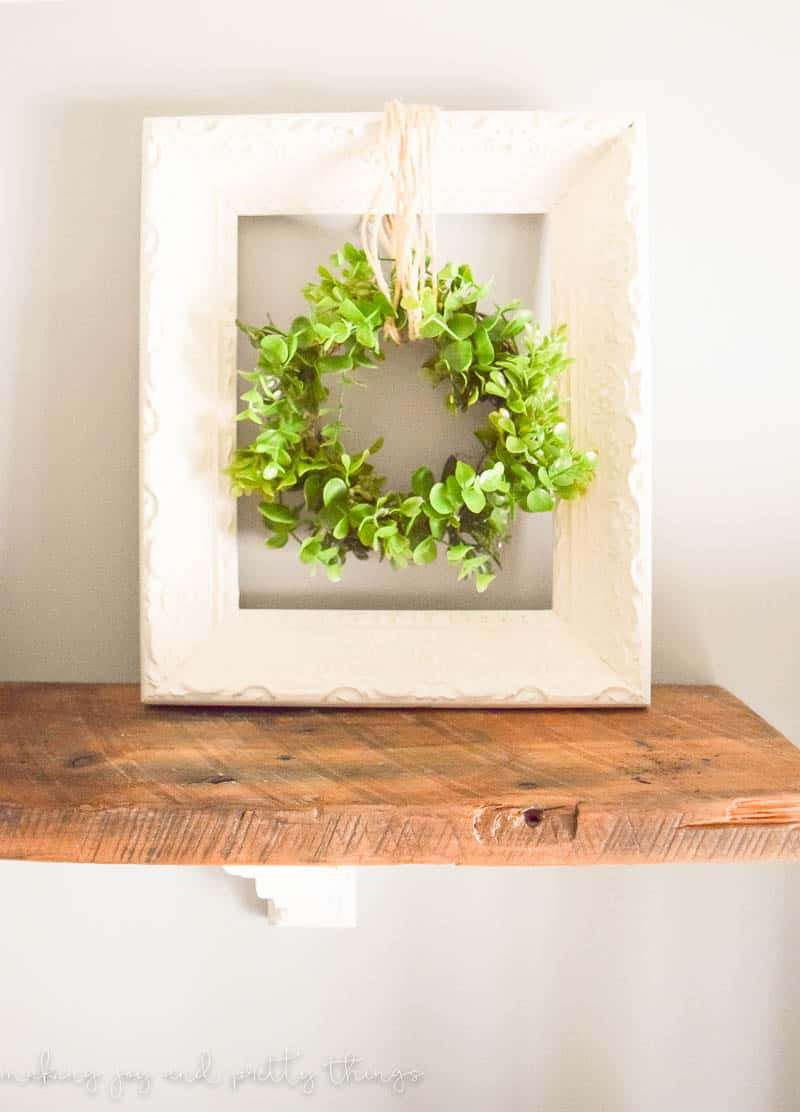 hanging wreath | hanging plant ideas