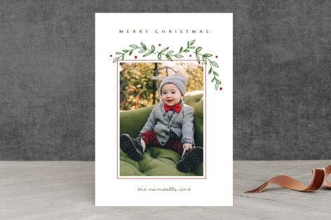 Farmhouse-style Christmas Cards and Holiday Cards and gifts