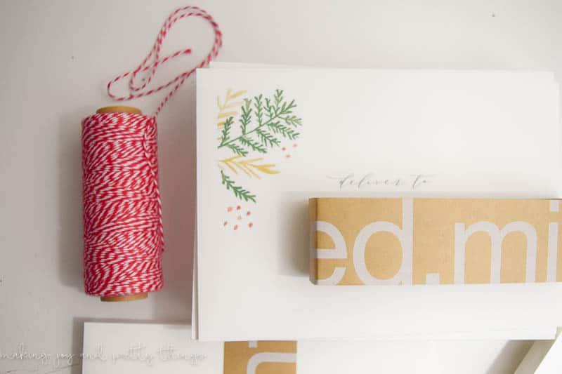 custom christmas cards | farmhouse christmas | minted
