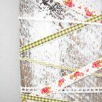 Rustic Shiplap Christmas Card Holder