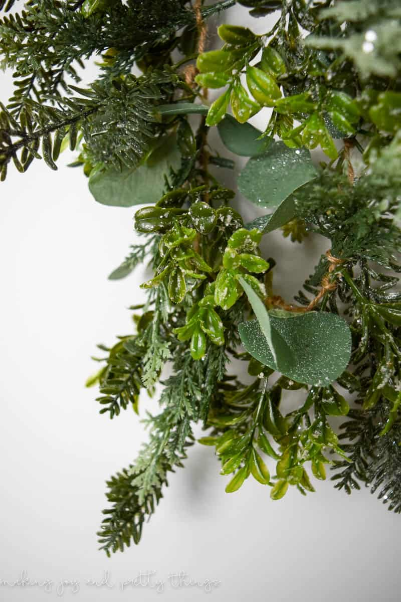 How to Make Your Own Faux Greenery Garland