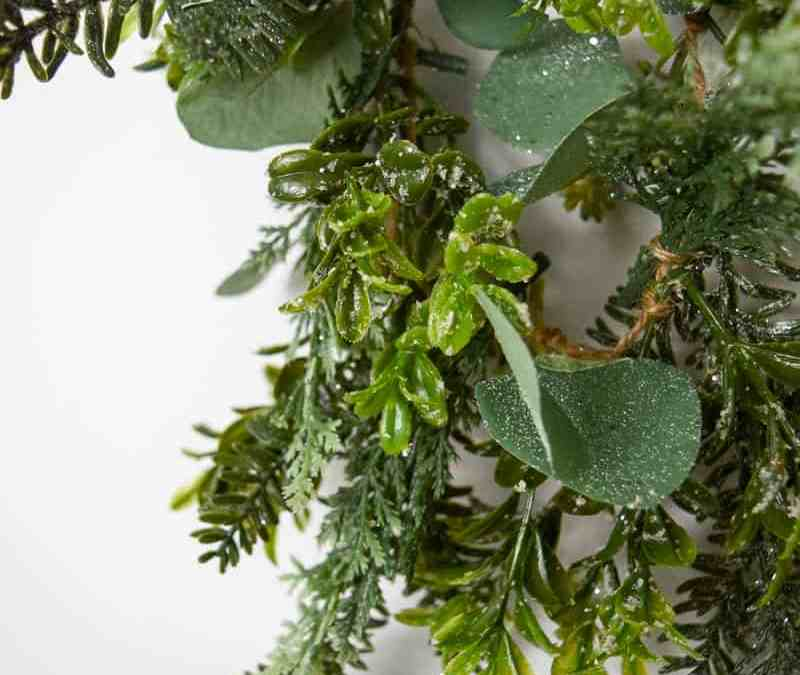 How to Make Your Own Faux Garland
