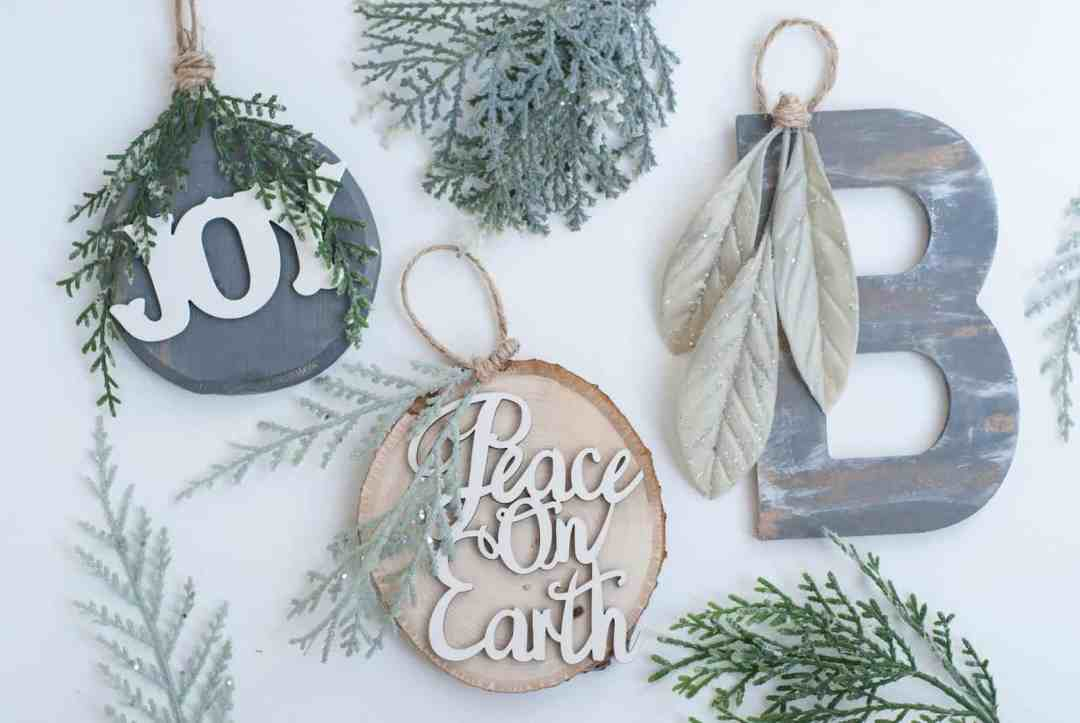 diy ornaments diy christmas farmhouse ornaments diy farmhouse style christmas ornaments