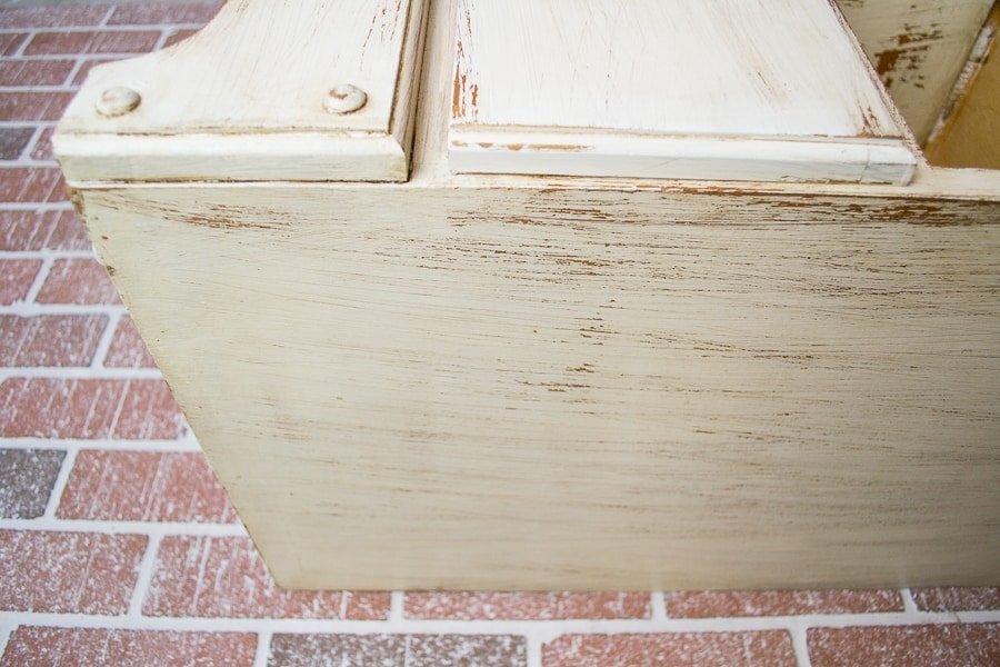 furniture tutorial: distress & antique