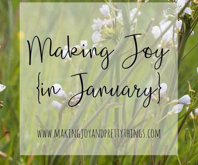 Making Joy in January