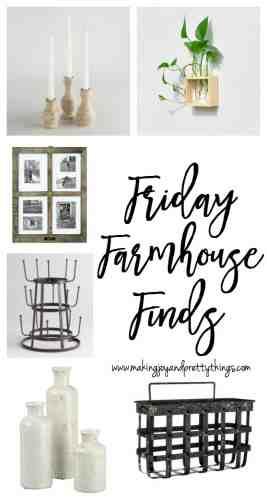 friday farmhouse finds   budget friendly farmhouse decor
