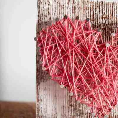 How to Make Your Own Rustic String Art
