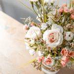 Farmhouse Spring Mason Jar Planter