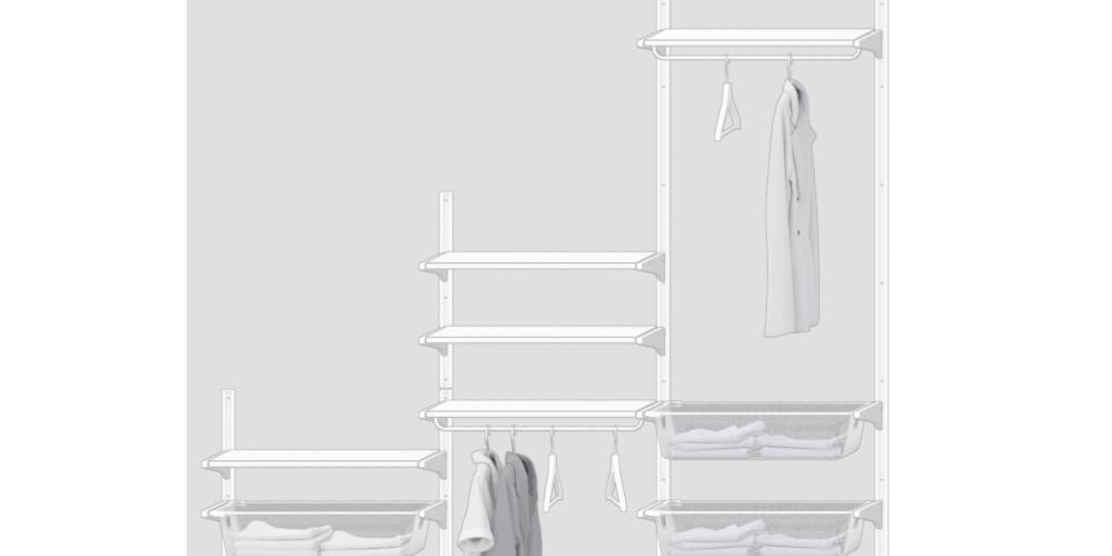 One Room Challenge {Week 3} - Designing the IKEA Algot