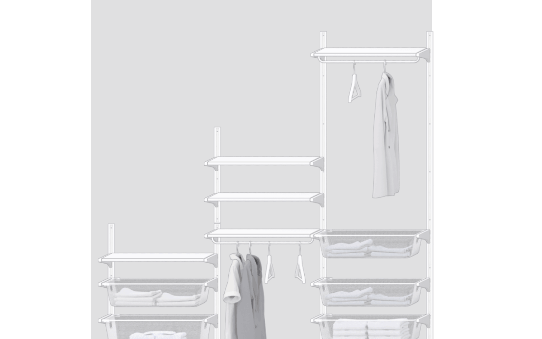 One Room Challenge {Week 3} – Designing the IKEA Algot Closet System