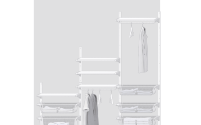 One Room Challenge {Week 3} – Designing the IKEA Algot Closet System