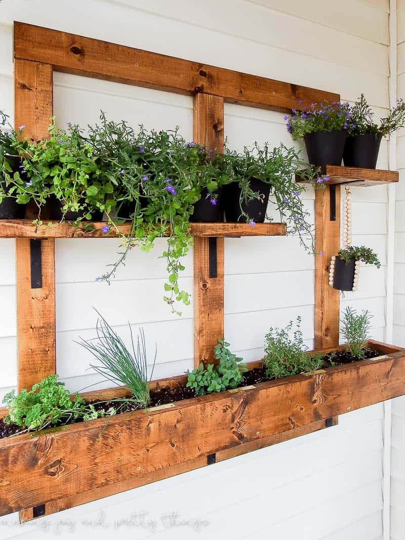 Vertical Wall Planters Outdoor Part - 43: Vertical Wall Planter | Vertical Garden | Vertical Gardening | Herb Garden  | Vertical Herb Garden