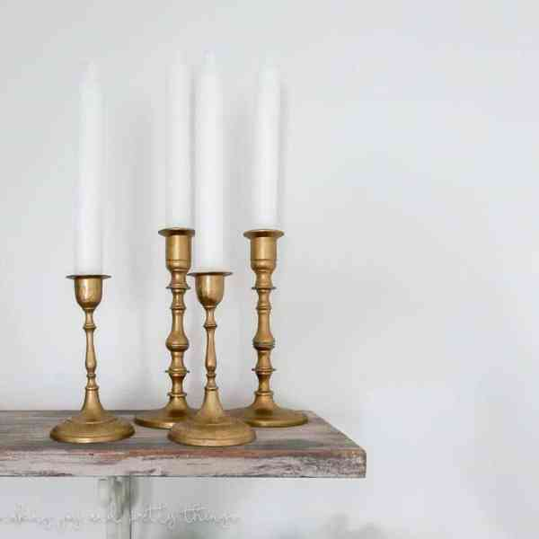 thrift store makeover | thrift store diy | thrift store finds | thrift store crafts | thrift store candle sticks | thrift store candleholders | diy home decor | diy room decor | modern farmhouse | industrial farmhouse | industrial decor | candlesticks | candle holders | candle holders diy | candleholder ideas