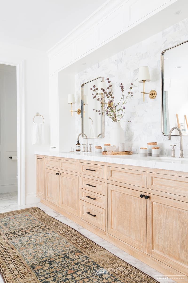 Modern Vintage Bathroom Inspiration -