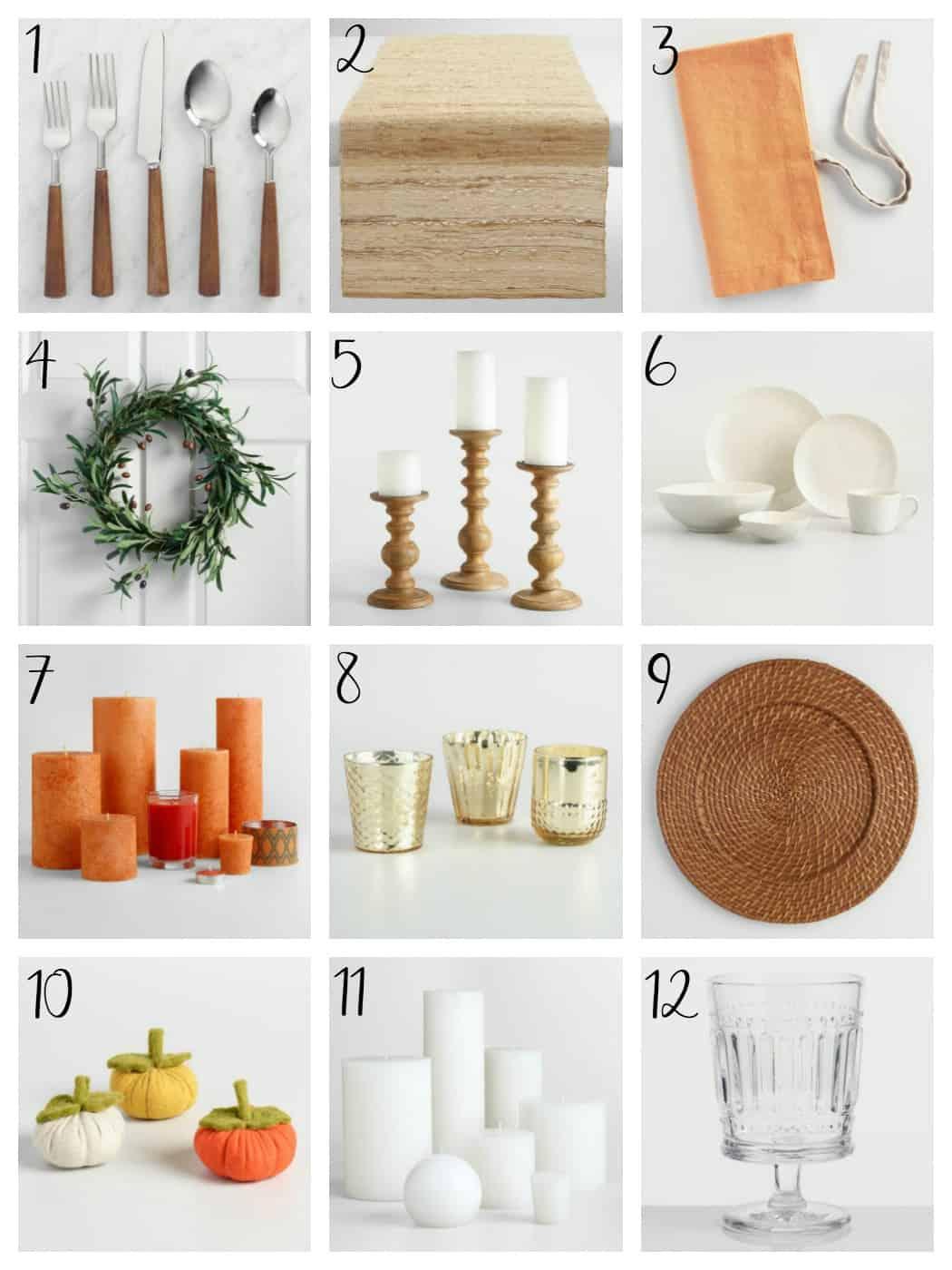 How to Make the Perfect Farmhouse Neutral Fall Tablescape @makingjoysarah for @worldmarket #worldmarket #ad #worldmarkettribe