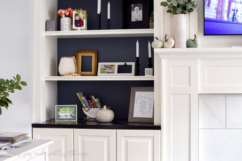 built in cabinets for living room. ikea hack  diy built ins kitchen cabinets ideas living room IKEA Hack Kitchen Cabinets Turned Built Ins