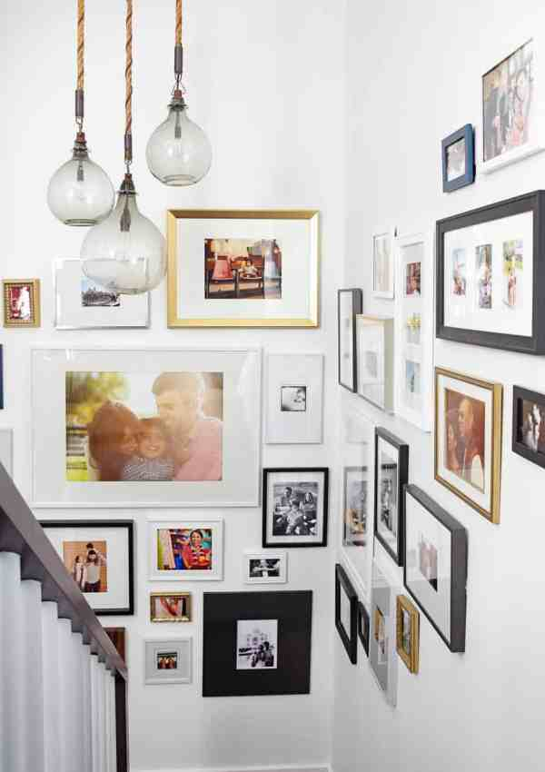 3 Stylish Ways to Display Family Photos