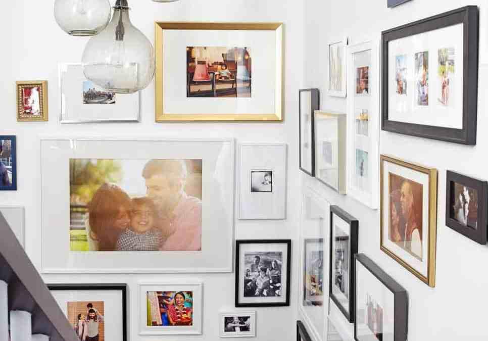 3 Stylish Ways to Display Family Photos
