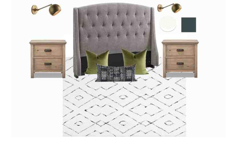 Design Plan for our Modern Master Bedroom