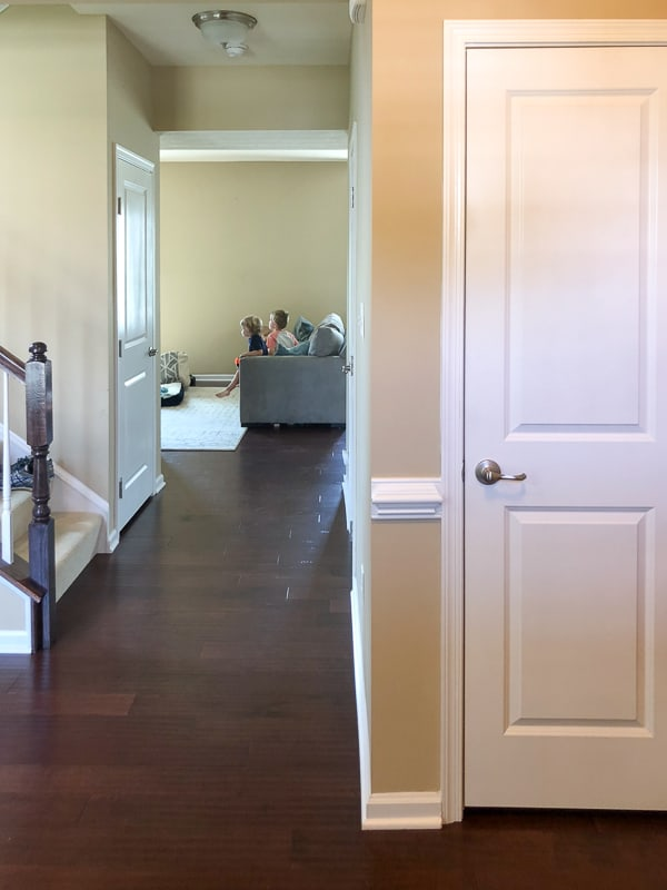 An iPhone tour of our new (beige) home!