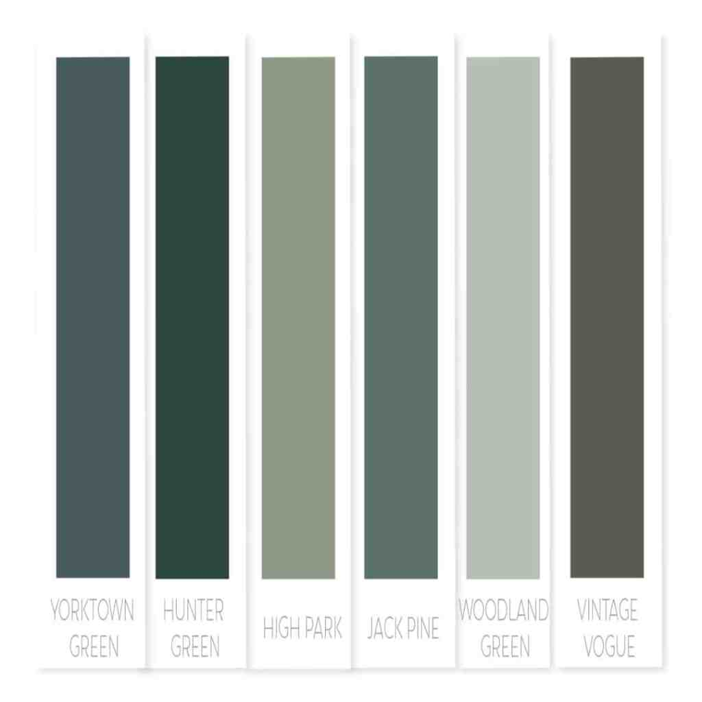 Benjamin Moore green paint | best green paint colors | best Benjamin Moore green paint | popular green paint Benjamin Moore