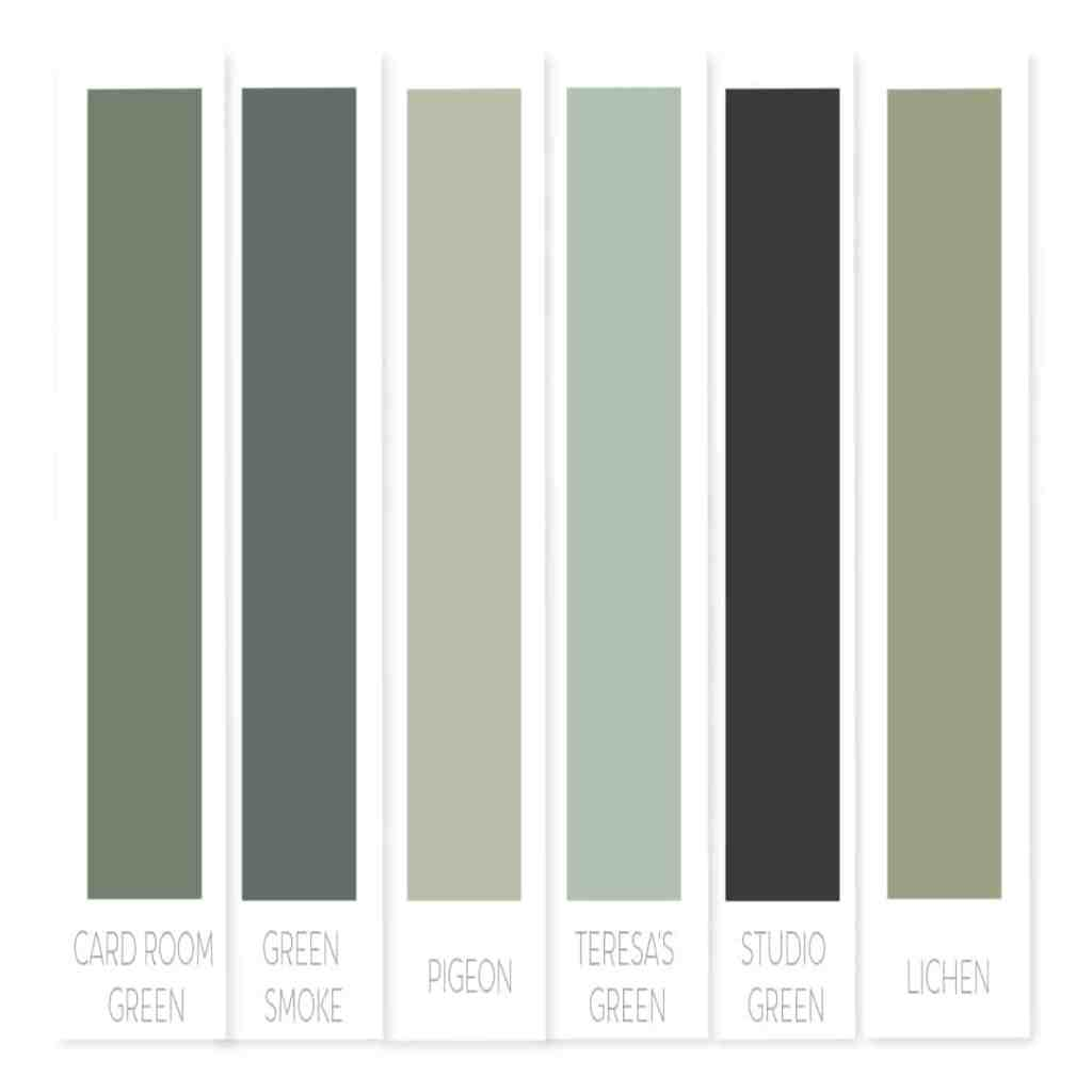 Farrow and ball green paint | best green paint colors | best Farrow and ball green paint | popular green paint Farrow and ball