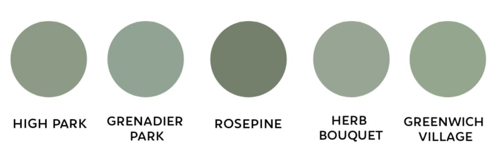 my favorite green paint colors | modern paint colors | most popular green paint colors | paint colors for home | best paint colors | sherwin Williams paint | Benjamin Moore paint | Behr paint | farrow and ball paint | best green paint colors
