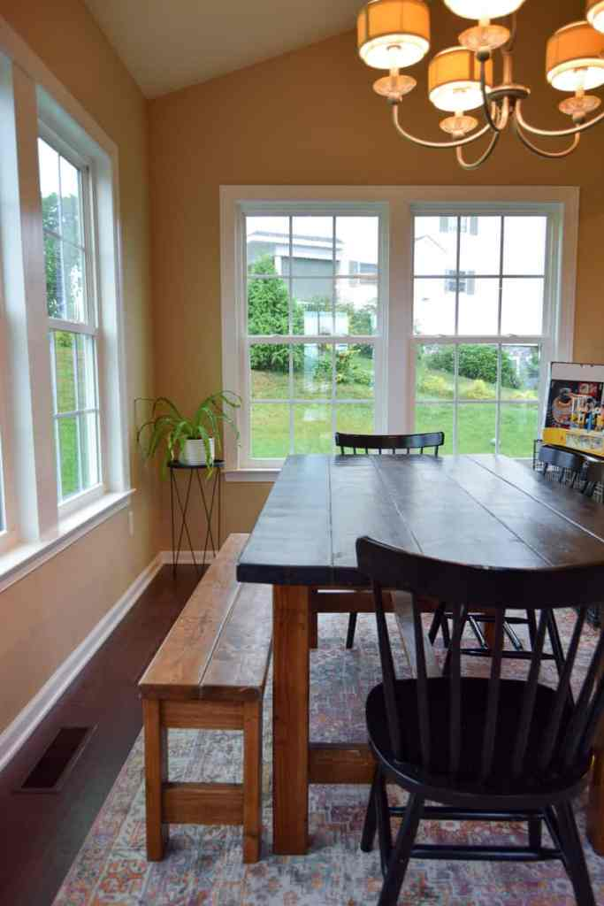 modern dining room before pictures - modern dining room design plan