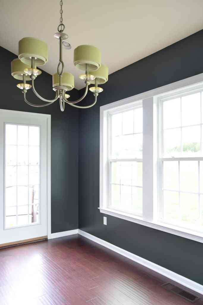 Dark Paint In The Dining Room And My Favorite Colors