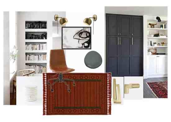 one room challenge week 1 modern office design plan
