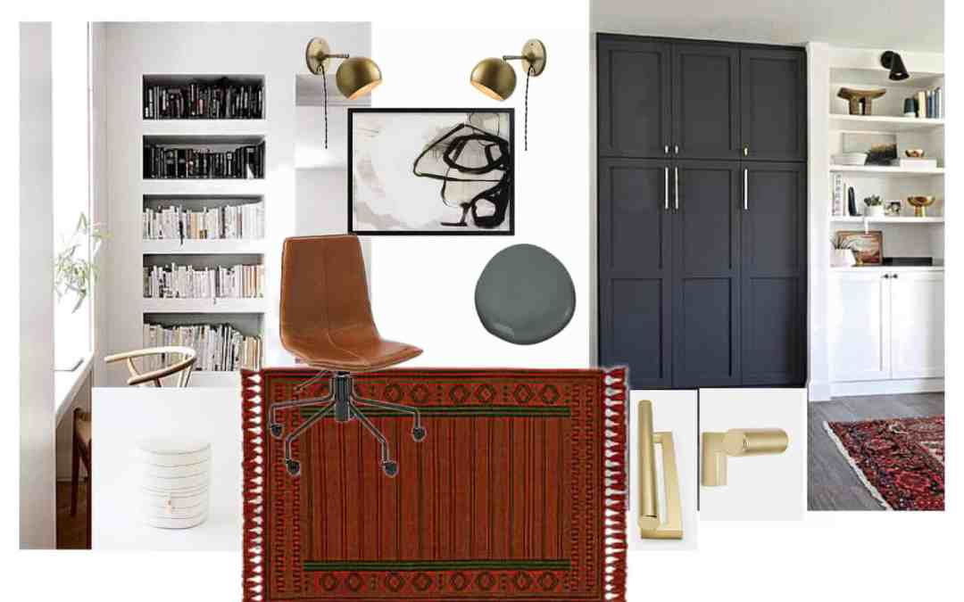 One Room Challenge Week 1 : : Modern Office Plans