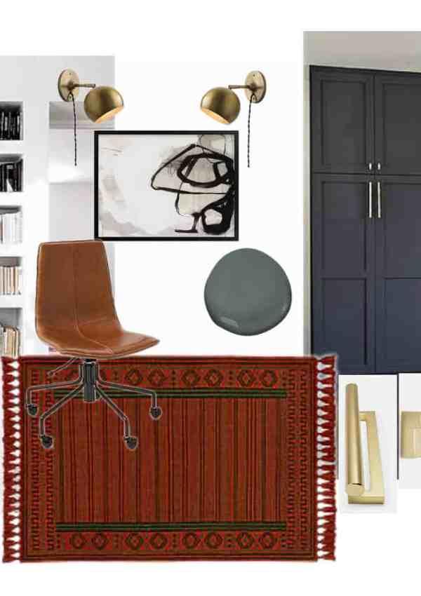 One Room Challenge Week 1 : : Modern Office Plans