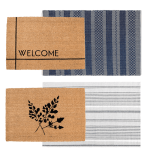 Layered Doormats for Summer