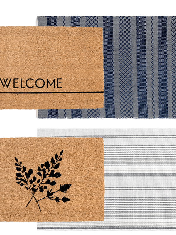 Layered Doormats for Summer