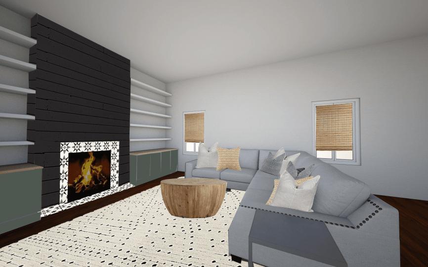 Living Room Design Plan Mood Board Floor Plan Making Joy And