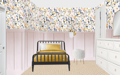 Evie's Big Girl Room Design Plan