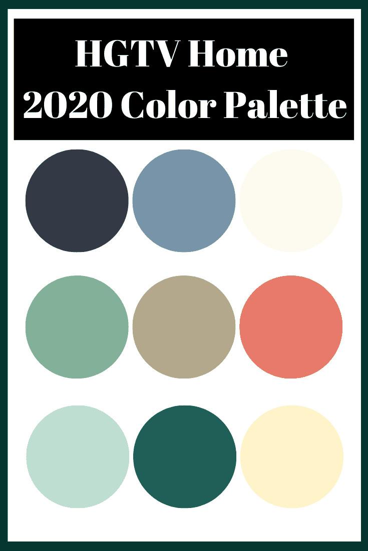 HGTV Home by Sherwin-Williams 2020 Colors of the Year. Get your home on trend with the best paint colors to use in your home. Tons of inspiration from top paint brands on which paint colors to choose and which paint color is trending right now. Get paint color schemes and paint colors for your home!